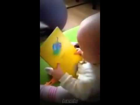 read books funny baby